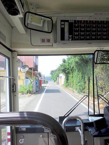 バスで最寄りのJR駅へ.jpg